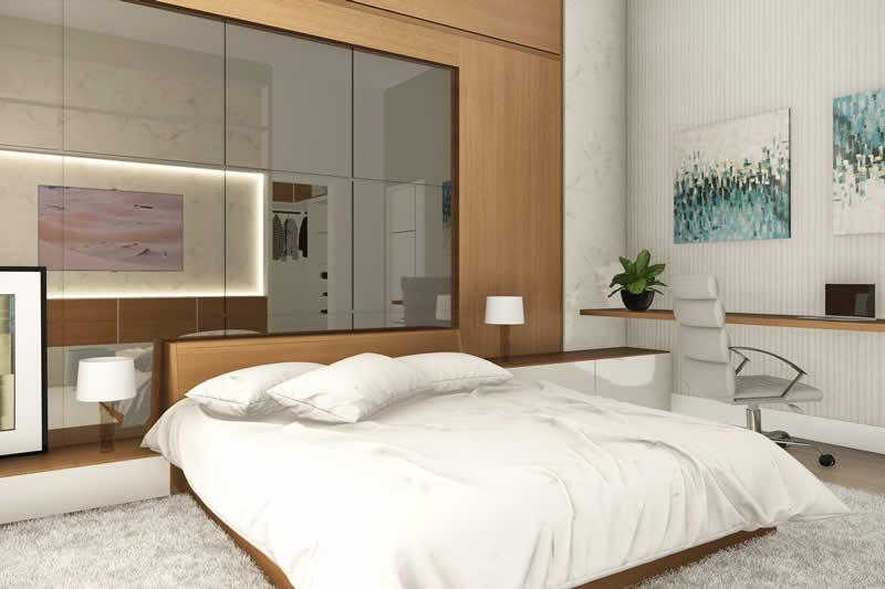 Amplio Dormitorio en Suite